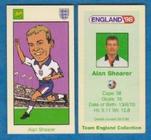England Alan Shearer Newcastle United (BP)
